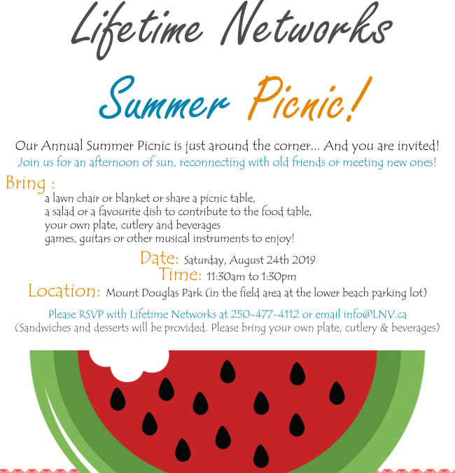 Lifetime Networks Summer Picnic!