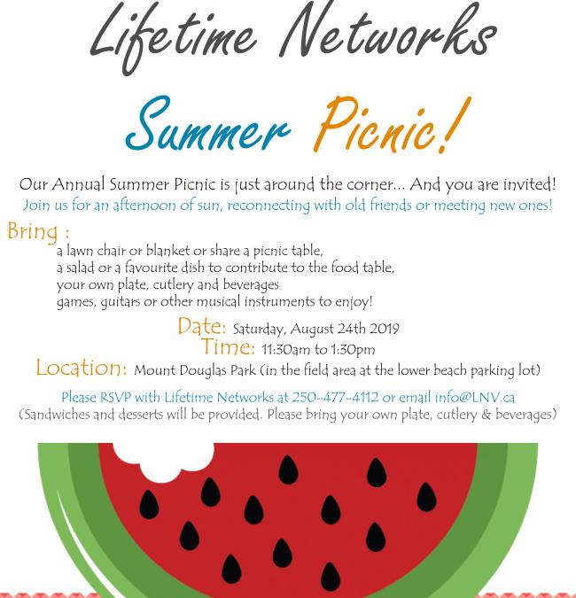 Lifetime Networks Summer Picnic!