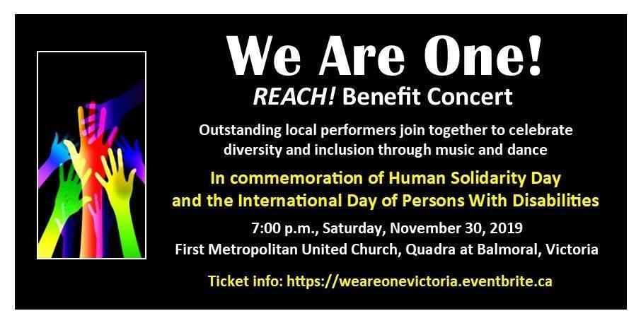 REACH! Benefit Concert